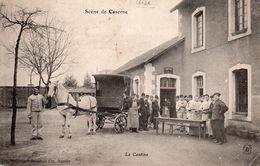 SCENE DE CASERNE - La Cantine - Kazerne