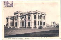 DAKAR  Les Bureaux Du Port De Commerce TTB - Senegal