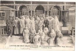 CHALONS SUR MARNE - Cantine Des Deux Drapeaux Pour Les Permissionnaires Le Promenoir - TTB   écrite - Guerra 1914-18