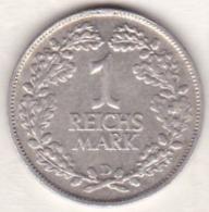1 Reichsmark 1925  D (MUNICH) , En Argent - [ 3] 1918-1933 : Weimar Republic