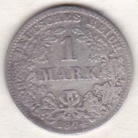 Empire. 1 Mark 1874  G (KARLSRUHE)  , En Argent - [ 2] 1871-1918: Deutsches Kaiserreich