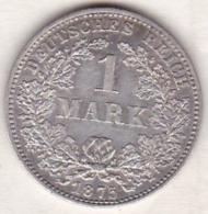 Empire. 1 Mark 1875  C (FRANKFURT)   , En Argent - 1 Mark