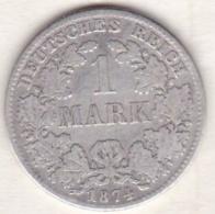 Empire. 1 Mark 1874  E (DRESDEN)   , En Argent - [ 2] 1871-1918 : Imperio Alemán