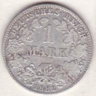 Empire. 1 Mark 1882  J (HAMBOURG)    , En Argent - [ 2] 1871-1918 : German Empire