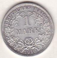 Empire. 1 Mark 1910 D (MUNICH)   , En Argent - [ 2] 1871-1918: Deutsches Kaiserreich
