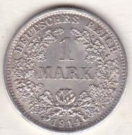 Empire. 1 Mark 1914 D (MUNICH)   , En Argent - [ 2] 1871-1918: Deutsches Kaiserreich