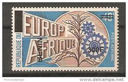 Benin (2008) Mi. 1541 - Overprint -  /  Europafrique - Europa - Europe - Africa - Afrique - Emissioni Congiunte
