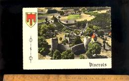 VIVEROLS Puy De Dôme 63 : Vue Aérienne Sur Le Château Et La Route De Medeyrolles - France