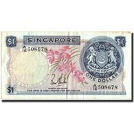 Singapour, 1 Dollar, Undated (1967-72), KM:1a, TB+ - Singapour