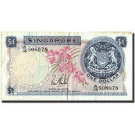 Singapour, 1 Dollar, Undated (1967-72), KM:1a, TB+ - Singapore