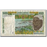 West African States, 500 Francs, Signature 31 (02), Undated (2002), KM:710Km, TB - Estados De Africa Occidental