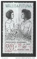 "Wallis YT 466 "" Princesses Ouvéennes "" 1994 Neuf** - Unused Stamps"