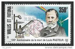 "Wallis Aerien YT 186 (PA) "" Louis Pasteur "" 1995 Neuf** - Aéreo"