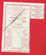 1 Obligation De 1941 Gestion Des Bons De La Défense Nationale ...  Tabac Et Allumettes ... - Actions & Titres