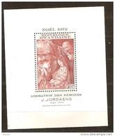 Rwanda Ruanda 1972 OCBn° Bloc 26 *** MNH Cote 4,50 Euro Noël Kerstmis Christmas Jordaens - Rwanda