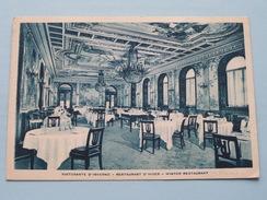 Hotel PLAZA Corso Umberto ( Winter Restaurant ) Anno 19?? ( Zie Foto Voor Details ) !! - Bars, Hotels & Restaurants