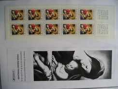 Carnet Croix Rouge 2002 - Carnets