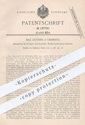 Original Patent - Max Güttner , Chemnitz , 1901 , Schleudermaschine | Schleuder | Zucker , Salz , Zuckerfabrik - Historische Dokumente