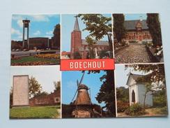 Groeten Uit BOECHOUT ( JvdB ) Anno 19?? ( Zie Foto Voor Details ) !! - Böchout