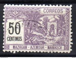 Maroc Postes Locales  : N° 42 A Oblitéré  , Cote : 25,00 € - Morocco (1891-1956)