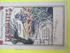 Petit Fascicule/ Nouvelles Collection De Devinettes/ Dessins Humoristiques / Mi XIXéme Siécle     JE199 - Books, Magazines, Comics