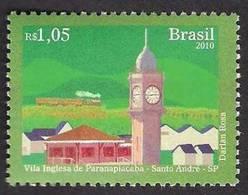 Brazil 2010, Vila Ingiesa De Paranapiacaba, Clock Tower, 1v MNH - Unused Stamps