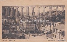 MORLAIX_GRAND HOTEL D'EUROPE-Vue Panoramique_Viaggiata Il 1904-Francobollo Integro-Originale 100% - Morlaix