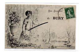 CPA 60 - BURY - Bon Souvenir De BURY - Otros Municipios