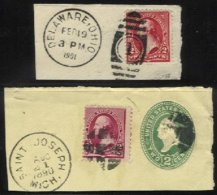 UNITED STATES, Used, F/VF - 1847-99 General Issues