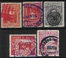 BOLIVIA, Yv 69, 70, 246, 274, Used, F/VF - Bolivie