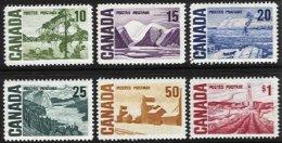 CANADA, Yv 384/9, Sc 462/65B, (*)/* MNG/MLH, F/VF, Cat. € 19,00 - Neufs