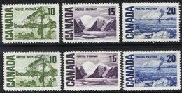 CANADA, Yv 384/6, Sc 462/4, ** MNH, VF/XF, Cat. € 7,00 - Neufs