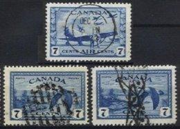 CANADA, Yv 11, Sc C9, Used, F/VF - Airmail