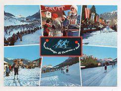Italia - 1973 - Cavalese (Trento) - 3 Marcialonga Di Fiemme E Fassa - Con Doppio Annullo Filatelico (FDC5573) - Sports D'hiver