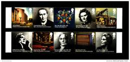 GREAT BRITAIN - 2012  BRITONS OF DISTINCTION  SET  MINT NH - 1952-.... (Elisabetta II)