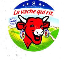 P 269 - . ETIQUETTE DE FROMAGE  - LA VACHE QUI RIT -8- PORTIONS - Fromage