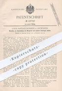 Original Patent - Louis Baptiste Donkers , Antwerpen , 1901 , Bearbeitung Von Margarine U. Fett   Butter , Walze !! - Historische Dokumente
