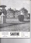 DEPT 72 -  Itinéraires Touristiques De La SARTHE - Union Des Syndicats D'Initiative De La Sarthe - - Voyages