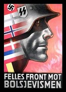 WW2 - Photo Affiche De Propagande Allemande - Felles Front Mot Bolsjevismen - 1939-45