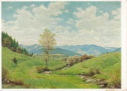 AK Julius Heffner - Frühling Im Schwarzwald - Feldpost Ln.-Flugmelde-Res. Kompanie - 1940 (30587) - Paintings