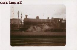 CARTE PHOTO : ETAT BELGE TRAIN LOCOMOTIVE ZUG BAHNHOF CHEMINS DE FER LOKOMOTIVE STATION ESTACION TRENO LOCOMOTORA - Trains