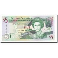 Etats Des Caraibes Orientales, 5 Dollars, Undated (2003), KM:42g, NEUF - Caraïbes Orientales