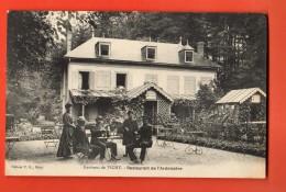 NEi-10  Environs De Vichy.  Restaurant De L'Ardoisière. Circulé Sous Enveloppe En 1913 - Frankrijk