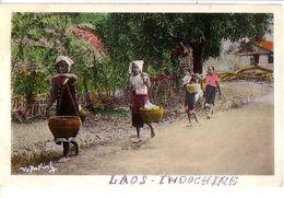 VENTIANE (Laos): Retour Du Marché - Laos