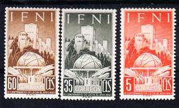 IFNI 1952. GEOGRAFO LEON EL AFRICANO  .EDIFIL Nº 86/88.NUEVOS  SIN  CHARNELA CECI 2 Nº 59 - Ifni