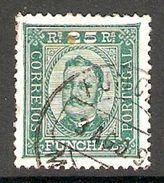 005631 Funchal 1892 25 Reis FU Perf 11.5 - Funchal