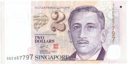 Singapour, 2 Dollars, Undated (2009), KM:46, TTB+ - Singapour