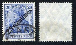 Allemagne, Colonie Allemande, Bureau Au Levant, Deutsche Post In Der Turkei, N°54 Oblitéré, Qualité Très Beau - Officina: Turquia