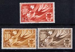 IFNI 1958. AYUDA A VALENCIA  EDIFIL Nº 142/144.NUEVOS  SIN  CHARNELA CECI 2 Nº 59 - Ifni