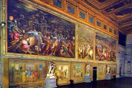 Firenze - Palazzo Vecchio - Affreschi Del Vasari - Salone Dei Cinquecento - 307 - Formato Grande Non Viaggiata – E 2 - Firenze
